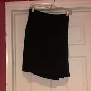 Merona, knee length black skirt